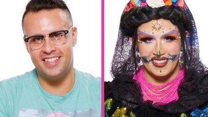 How To Do Día De Los Muertos Catrina Makeup with Freeda Kulo   Cosmo Queens