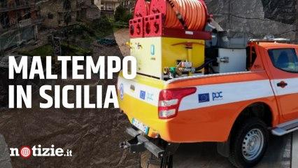 Maltempo a Catania, allagamenti nelle abitazioni: trovato corpo senza vita di un disperso a Scordia