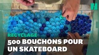 Dans cette favela de Rio, on fabrique des skateboards à partir de bouchons de plastique