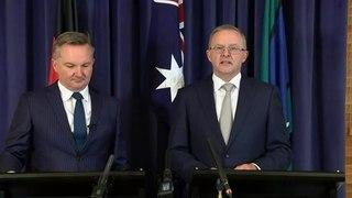 Opposition Leader responds to PM's net zero announcement