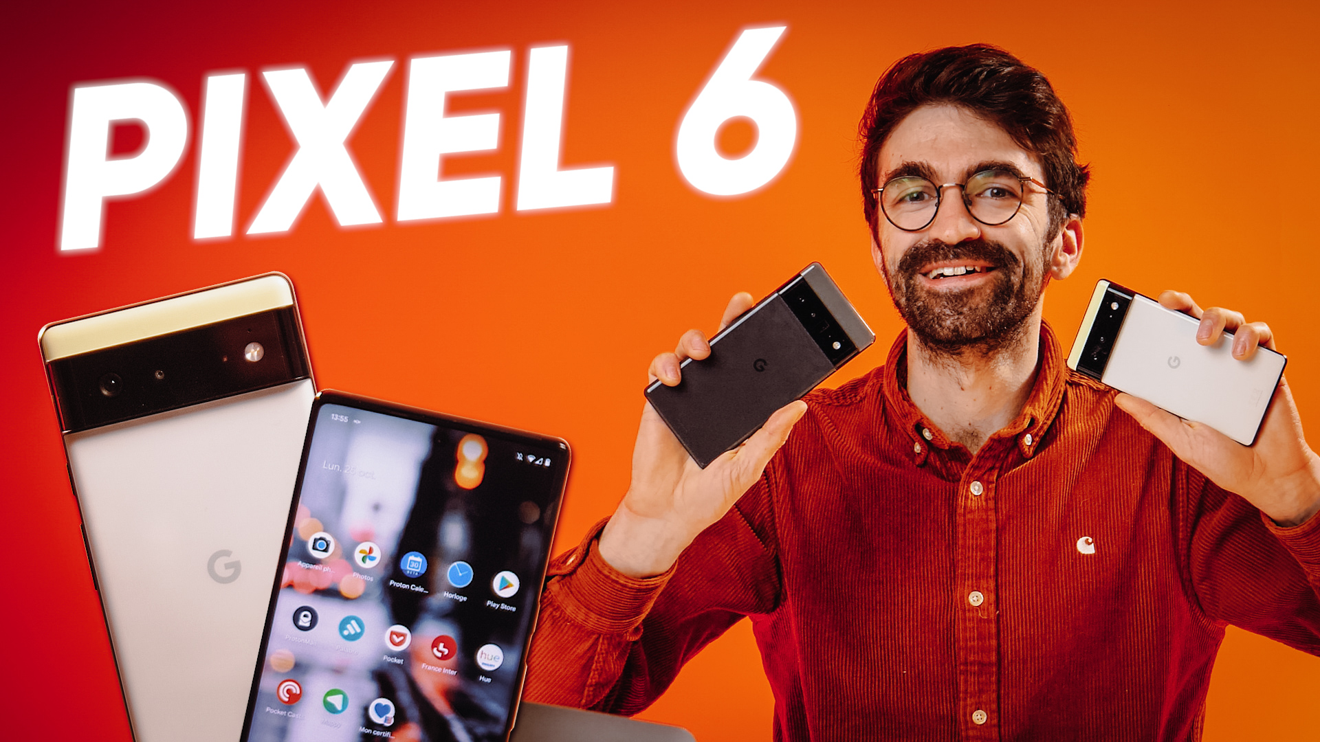 Test des PIXEL 6 et PIXEL 6 PRO : Google a TOUT changé