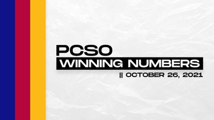 PCSO Lotto Draw: P227M UltraLotto 6/58, MegaLotto 6/45, Lotto 6/42, 6D, Suertres, Ez2 | Oct. 26, 2021