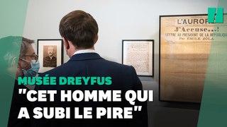 Macron inaugure le musée Dreyfus et appelle à ne pas oublier les