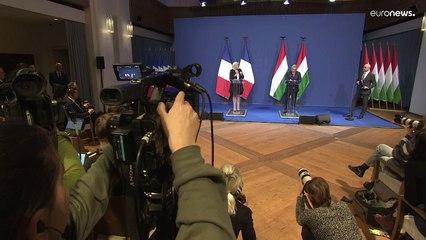 A Budapest, Marine Le Pen cherche l'appui de Viktor Orban