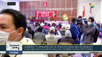 Gobierno de Bolivia inició diálogo con víctimas y familiares de las masacres de 2019