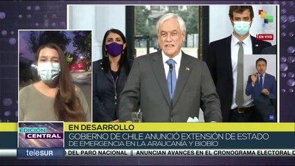 Edición Central 26-10: Gobierno de Chile anunció extensión de estado de emergencia