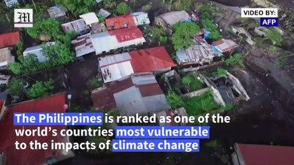 Philippine typhoon survivor yearns for refuge