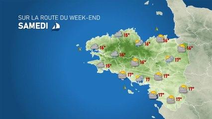 Illustration de l'actualité SUR LA ROUTE DU WEEK-END : tendance météo du 30 octobre au 1er novembre