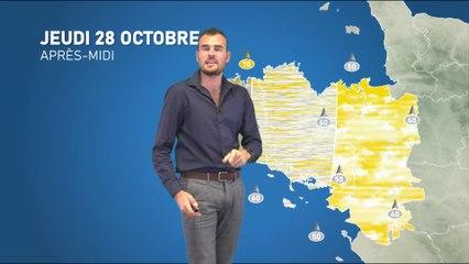 Illustration de l'actualité La météo de votre jeudi 28 octobre 2021