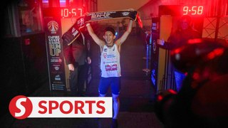 Malaysia's top tower runner wins Empire State Building Run-Up race
