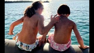 Alessandra Sublet, heureuse maman : adorable photo d'Alphonse et Charlie, si proches