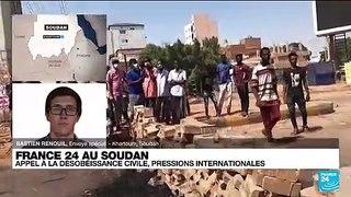 Soudan : plusieurs dirigeants civils toujours aux mains de l'armée
