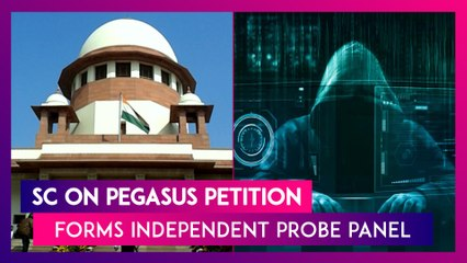 Supreme Court On Pegasus Spyware Petition: Independent Panel to Probe Allegations, Says State Cannot Get Free Pass Every Time By Raising National Security Concerns