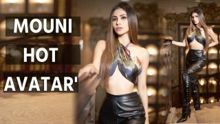 Mouni Roy sets the temperature soaring in hot pictures
