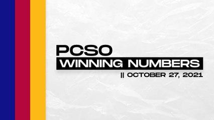 PCSO Lotto Draw: P80M Grand Lotto 6/55, Mega Lotto 6/45, 4D, Suertres, Ez2 | Oct. 27, 2021