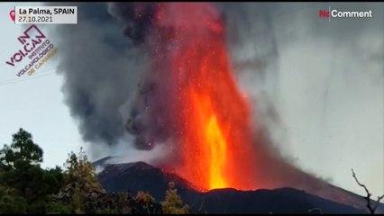 A Palma, l'éruption du Cumbre Vieja s'intensifie encore