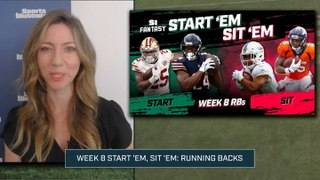 Week 8 Start 'Em or Sit 'Em: Running Backs