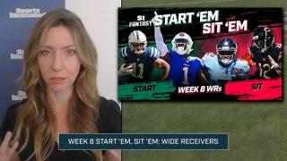 Week 8 Start 'Em or Sit 'Em: Wide Receivers