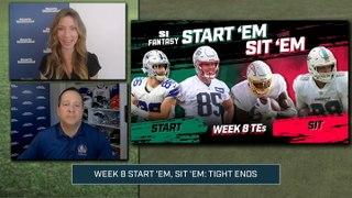 Week 8 Start 'Em or Sit 'Em: Tight Ends