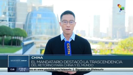 Presidente de China destaca la importancia de la cooperación internacional ante la ONU