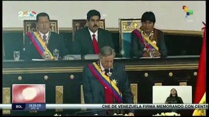 Nicolás Maduro: Kirchner sigue vivo en nuestros recuerdos y en nuestras causas