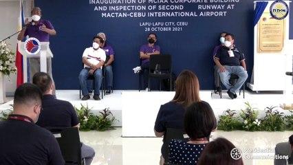Inauguration of the Mactan-Cebu International Airport New Corporate Building October 28, 2021