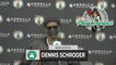 """Dennis Schroder Says Celtics Need To """"Be Ready To Compete."""" 