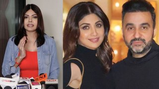 Shilpa Shetty और Raj को Sherlyn ने Press Confrence कर   किया Expose   FilmiBeat