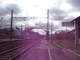 Passage a 220 KM/H a Chasseneui vienne ( TGV + Klaxon )