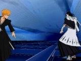 bleach 5 psp ichigo & ichigo hollow vs byakuya