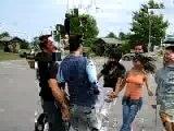 Lebanese Dabke Dance, jeunes libanais s'amuse sur une dabke