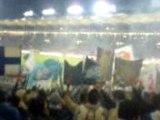 Tfc 0-0 OM 2008 entrée joueurs parcage marseillais
