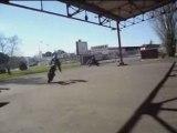 une session a marmande quand j'avais mon stunt