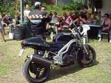 Moto triumph speed triple raduno
