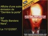 "Fdesouche sur ""Derrière ta porte""/""Radio Bandera Nera,"""