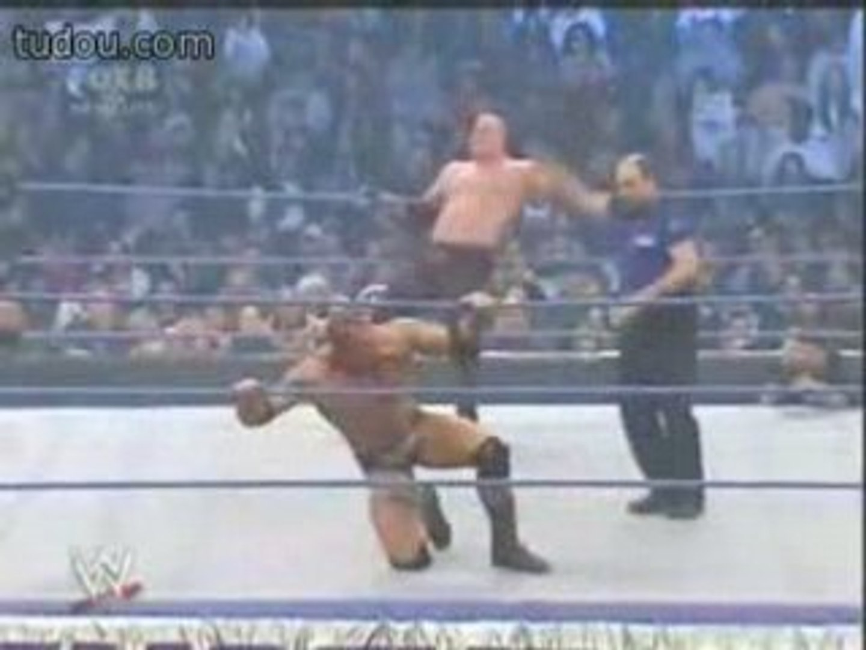 SmackDown 14 12 2007 - Batista Vs Kane - Last Man Standing