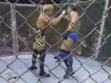 Owen Hart vs Ken Shamrock Lion's Den Match
