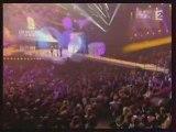 Christophe Mae - Recompense aux Victoires de la Musique 2008