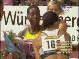 "Athlé 60m haies susanna Kallur record du monde 7""68"