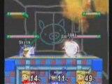Lucas vs Lucas vs Ike Wario ware stage