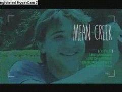 Mean Creek 2004 Menu du DVD
