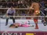 Razor Ramon vs Bret Hart (WWF Title Match) part 1