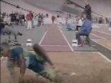 Athlé saut longueur Irving Saladino 8.65m