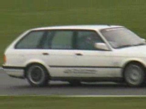 Drift session en BMW touring à Beuvardes