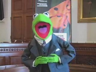 Kermit Lobbies Congress