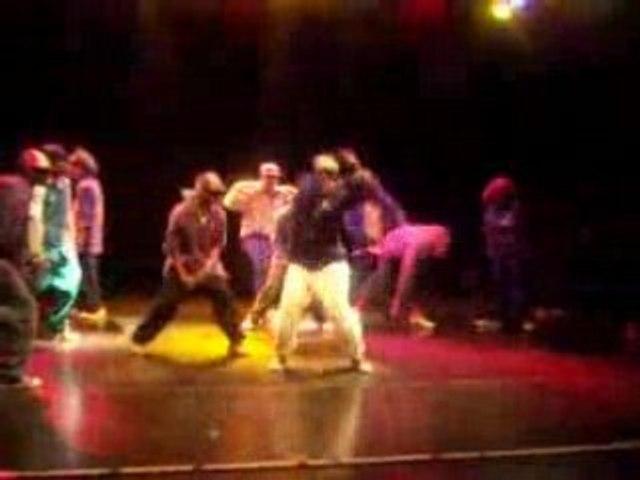 Ô Boyz krump show