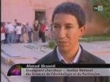 Tombeaux des saadiens a Marrakech Maroc Morocco