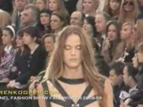 Chanel fall winter 2008 2009 Fashion Show By Karen Kooper