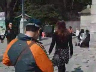 Milena à Harajuku