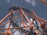 STUN FALL  montagne russe looping roller coaster Bucle mo
